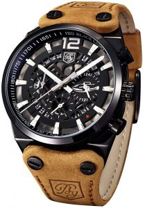 Benyar Military Chronograph Watch