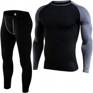 Fit Nation Long Sleeve Thermal Base Layers