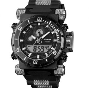 Infantry Military Analogue Digital Watch
