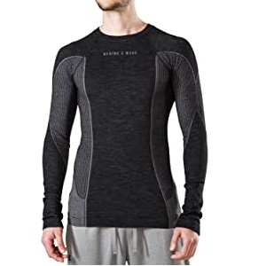Merino & More Men's Ski Base Layer