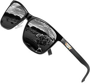 Duco Unisex Metal Sunglasses